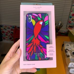 Brand new Kate Spade iPhone XS Max soft touch case